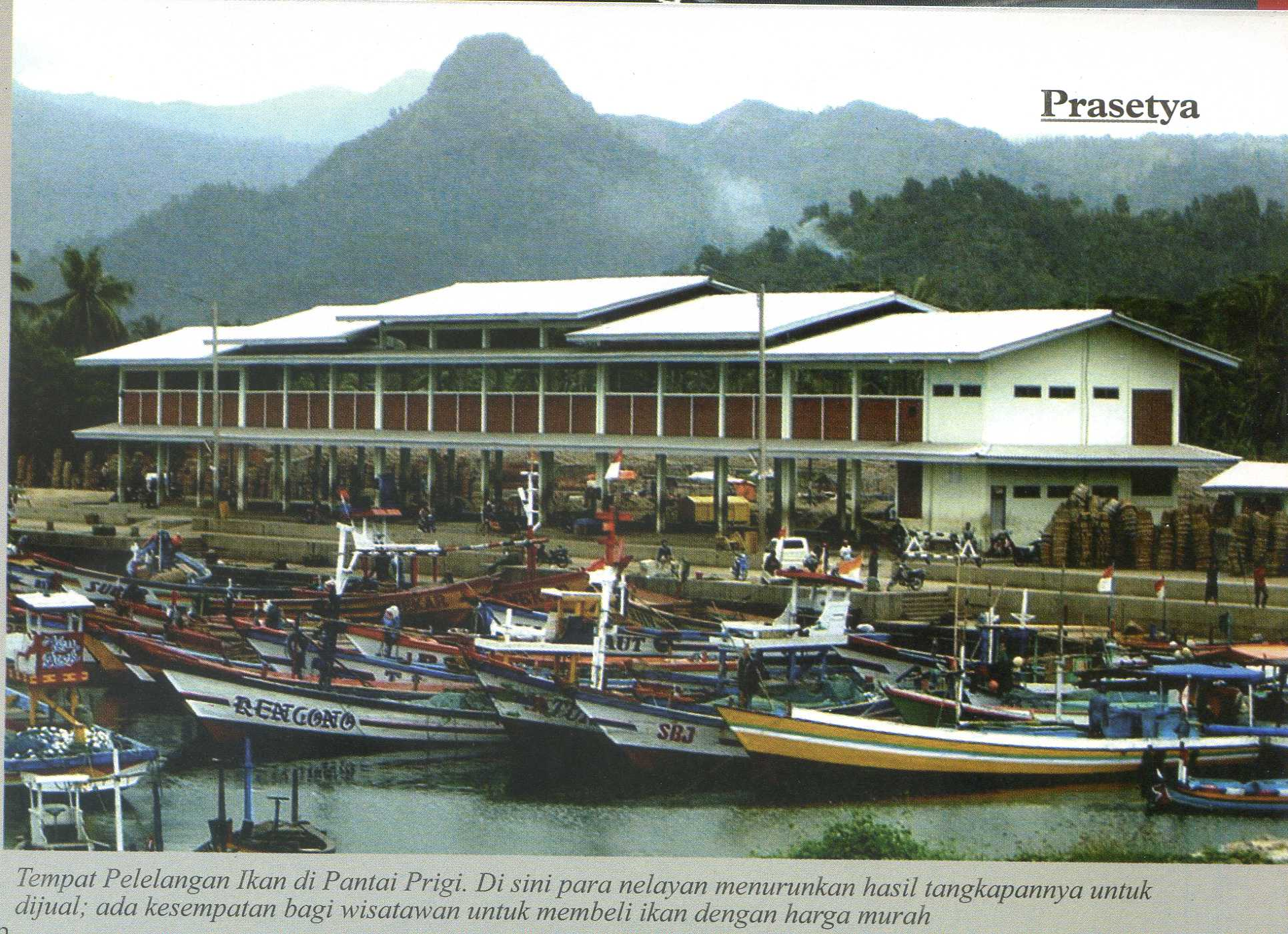 Pantai Prigi Kabupaten Trenggalek Wisata Jawatimuran Fasilitas Kab