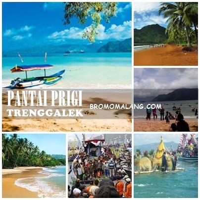 Pantai Prigi Panorama Keindahan Menawan Trenggalek Wisata Kab