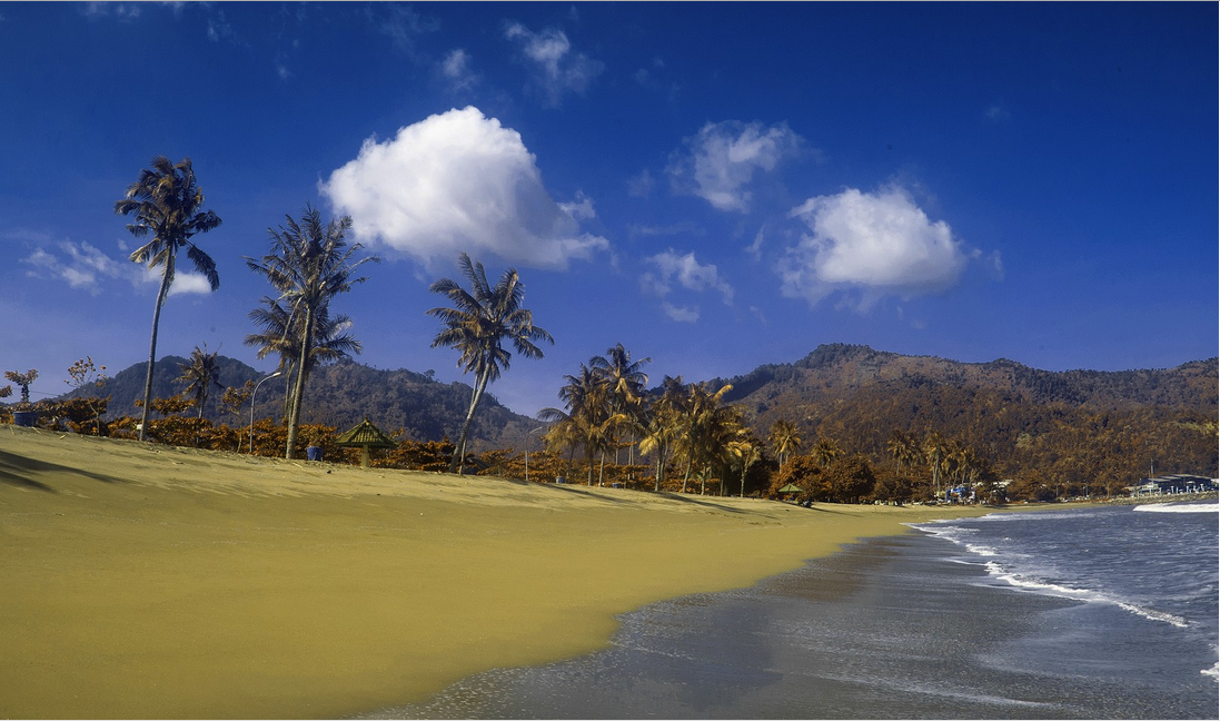 Pantai Prigi Pesona Selatan Jawa Timur Trenggalek Kab