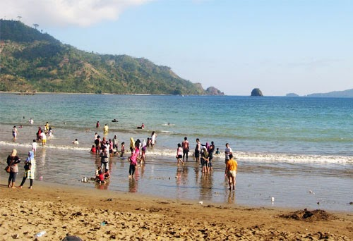 Pantai Prigi Trenggalek Wisata Kab