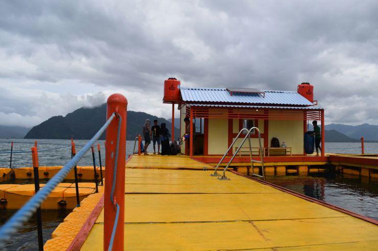 Serunya Snorkeling Rumah Apung Trenggalek Kilasdaerah Kompas Berada Perairan Pantai