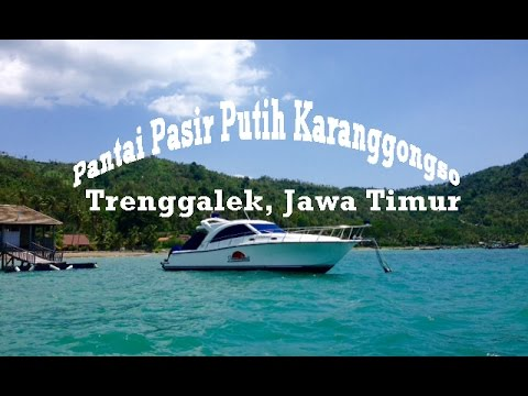 Trip Adventure Pantai Pasir Putih Prigi Trenggalek Jawa Timur Youtube