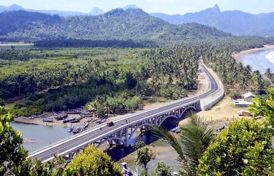 Wisata Trenggalek Visit Pantai Cengkrong Terletak Kabupaten Satu Kawasan Damas