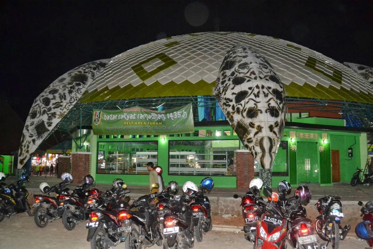 Beli Oleh Kuliner Sekaligus Wisata Rest Area Tuban Alun Kab