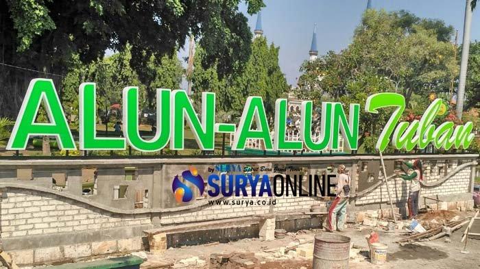 Besar 2019 Alun Tuban Dihias Penampakannya Kab