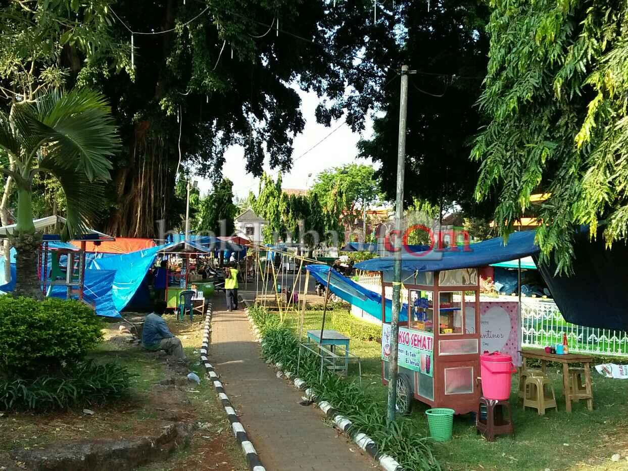 Bloktuban Pedagang Mulai Padati Alun Tuban Kab