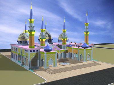 Indahnya Masjid Agung Tuban Oleh Heri Fitrianto Kompasiana Berada Pusat