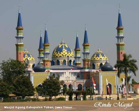 Rindu Masjid Agung Tuban Jawa Timur Alun Kab