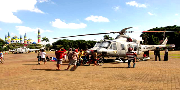 Sugar Fm Radionet Helikopter Tni Al Mendarat Alun Tuban Dua