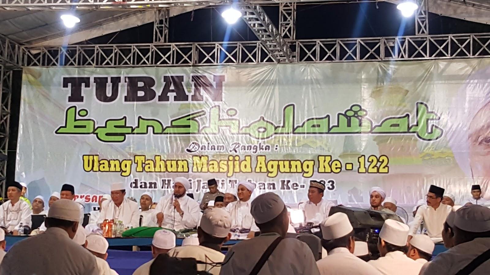 Video Live Tuban Bersholawat Bersama Habib Syech Alun Kamis Tanggal