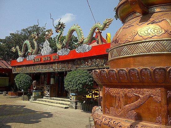 Bangunan Utama Klenteng Kwan Sing Bio Picture Temple Kab Tuban