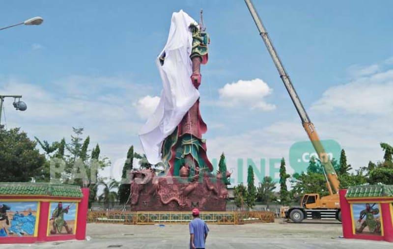 Jadi Kontroversi Patung Dewa Perang Kong Kwan Sing Tee Koen
