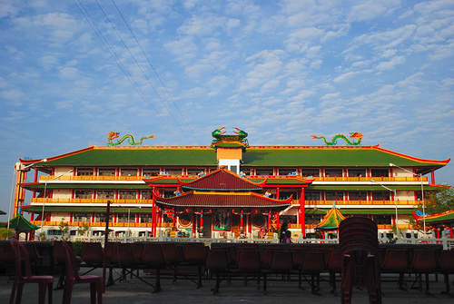 Kwan Sing Bio Crab Monastery Biggest Chinese Temple South East