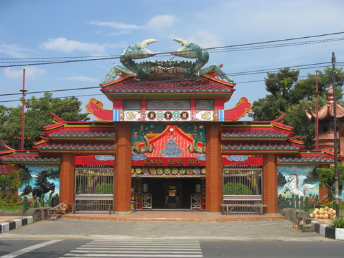 Kwan Sing Bio Temple Tuban Photo Panoramio Klenteng Kab