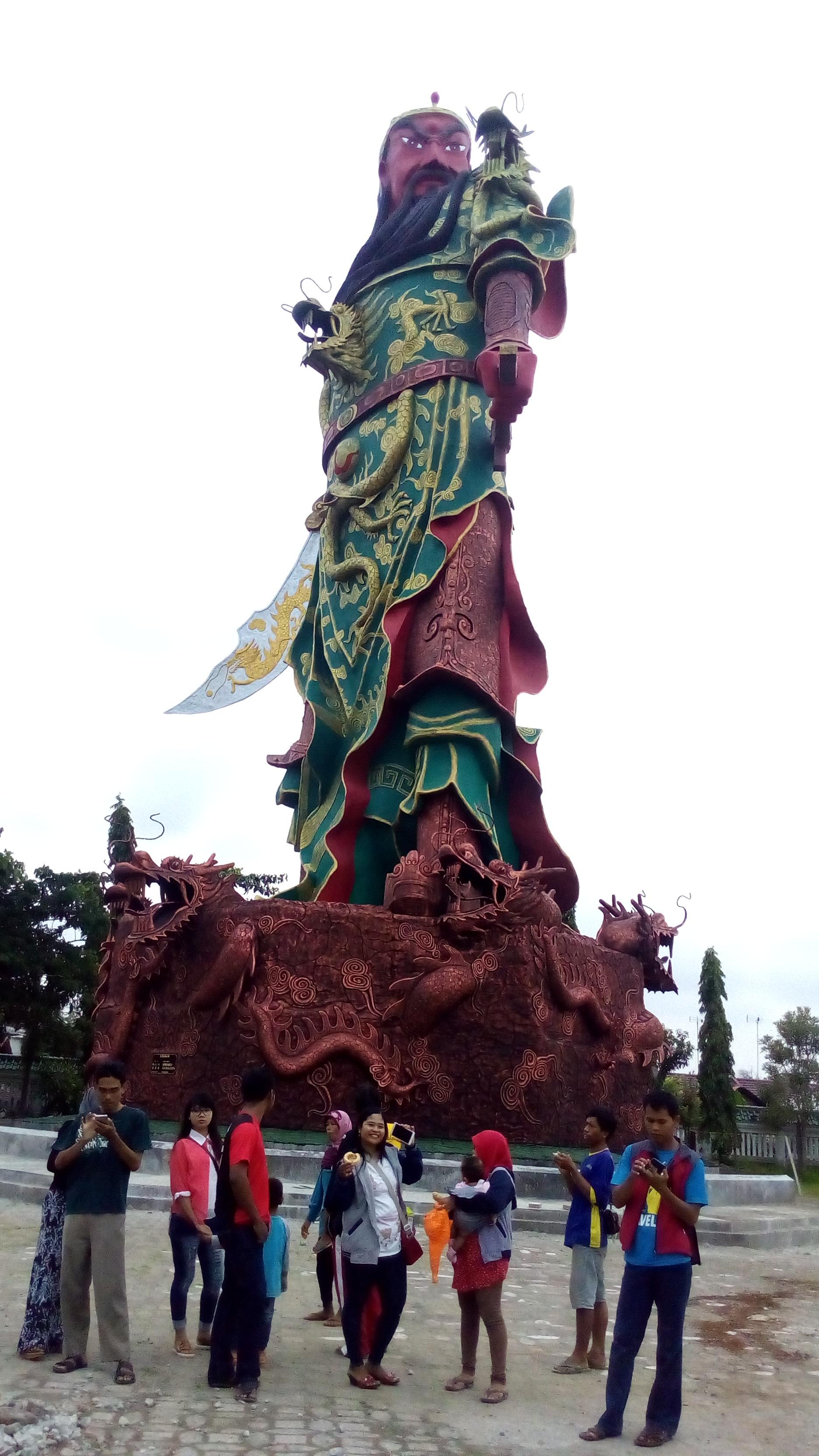 Patung Kongco Kwan Kong Klenteng Sing Bio Tuban Memiliki Ikon