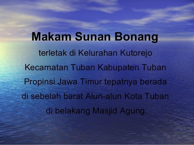 Makam Sunan Bonang 3 638 Jpg Cb 1423631743 Komplek Tuban