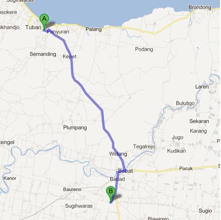 Ristanto Sumarsono Peta Perjalanan Tour De Walisongo Sampai Area Makam