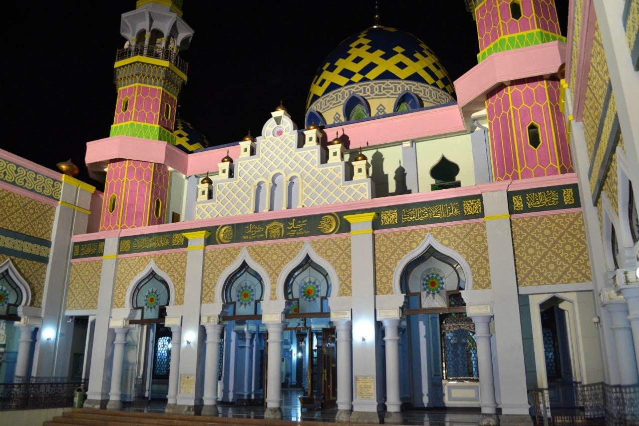 Indahnya Masjid Agung Tuban Malam Hari Youtube Kab