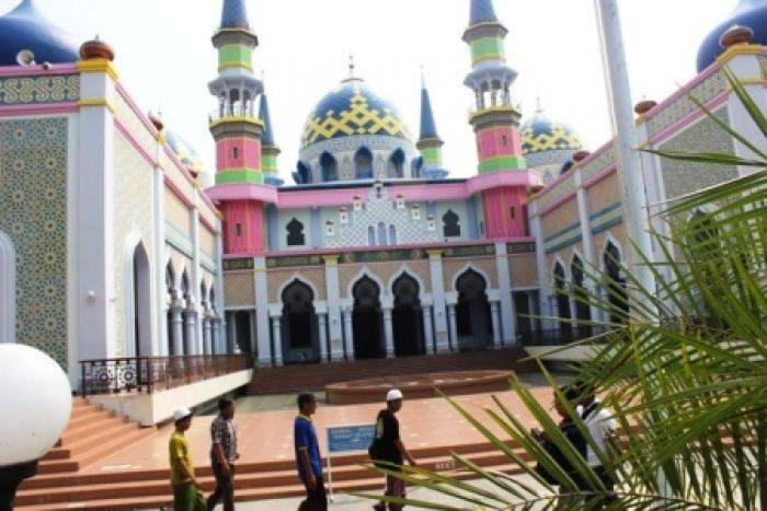 Keindahan Masjid Agung Tuban Jadi Obyek Foto Bangsa Online Cepat