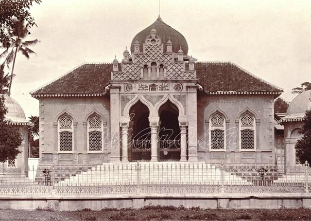 Koleksi Foto Kota Tuban Tempo Dulu Eksklusive Masjid Agung Toeban