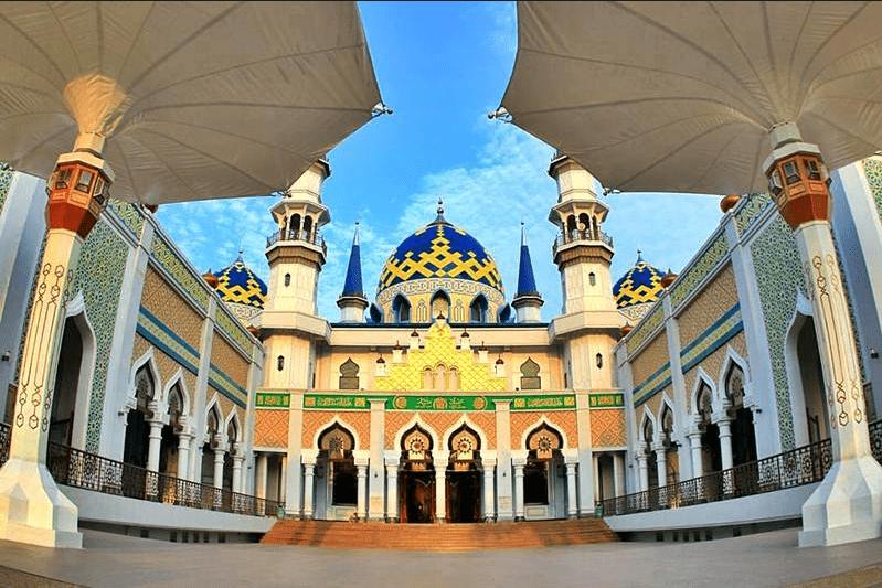Kubah Grc Majid Agung Tuban Jawa Timur Masjid Kab