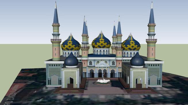 Masjid Agung Tuban 3d Warehouse Kab