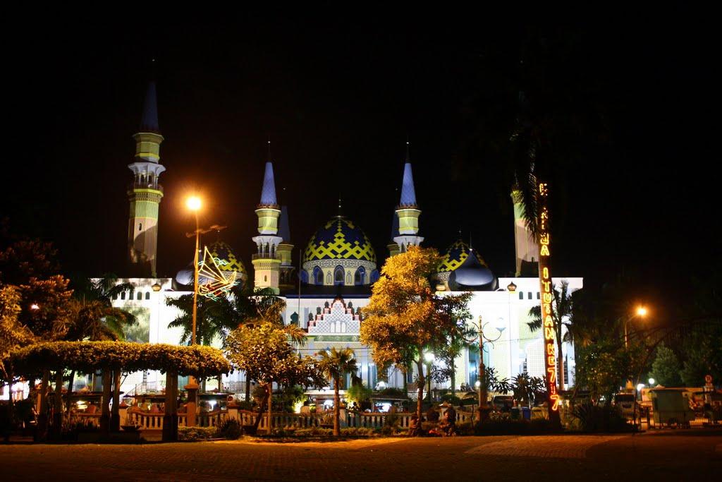 Masjid Agung Tuban Night Wherysusanto Mapio Net Kab