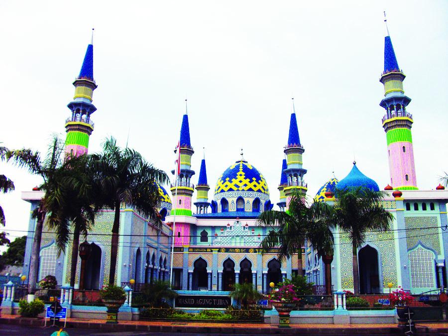 Masjid Agung Tubanpesona Wisata Kabupaten Tuban Sejarah Pembanguna Pembangunan Kab