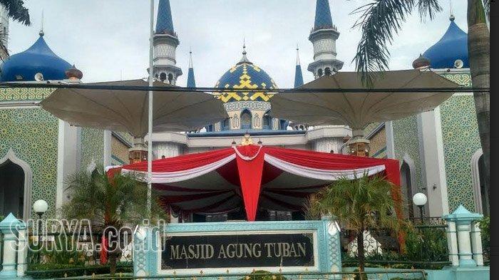 Presiden Jokowi Dijadwalkan Salat Jumat Masjid Agung Tuban Kab
