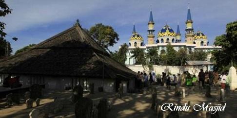 Rindu Masjid Agung Tuban Jawa Timur Latar Depan Foto Bangunan