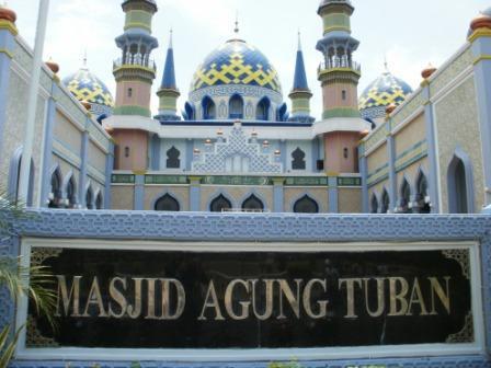 Seputar Kampung Halamanku Kharinnacaterine Masjid Agung Tuban Terminal Wisata Terapung