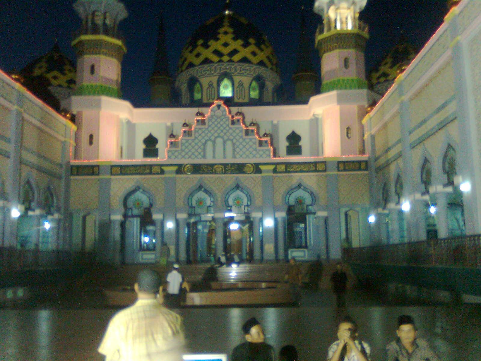 Tegoeh Blog Foto Masjid Agung Tuban Dilihat Malam Hari Kab