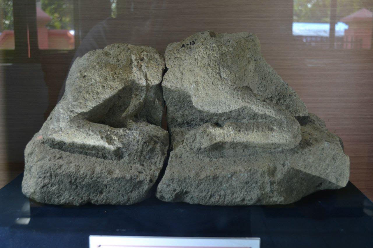 Arca Nandi Kepala Museum Kambang Putih Tuban Jelajah Kab