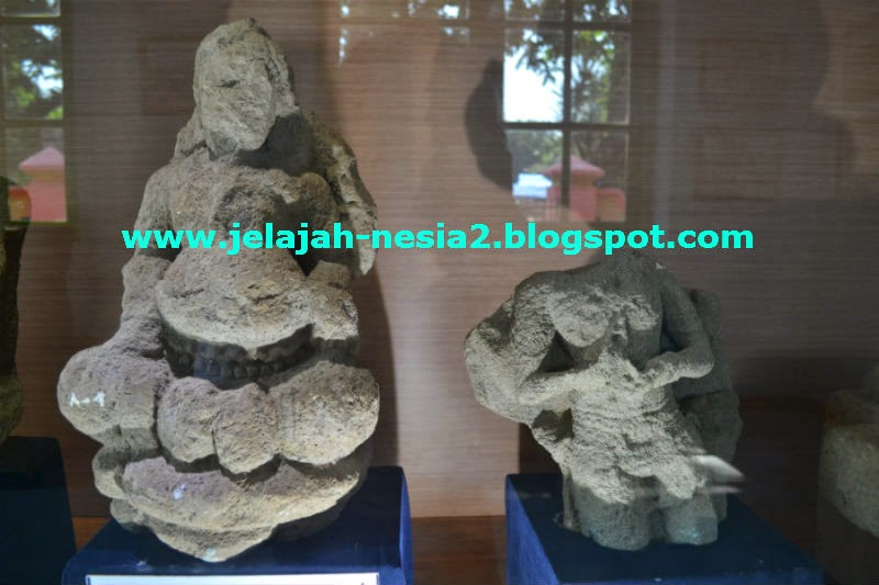 Jelajah Nesia 2 Arca Kuno Kepala Museum Kambang Putih Kedua