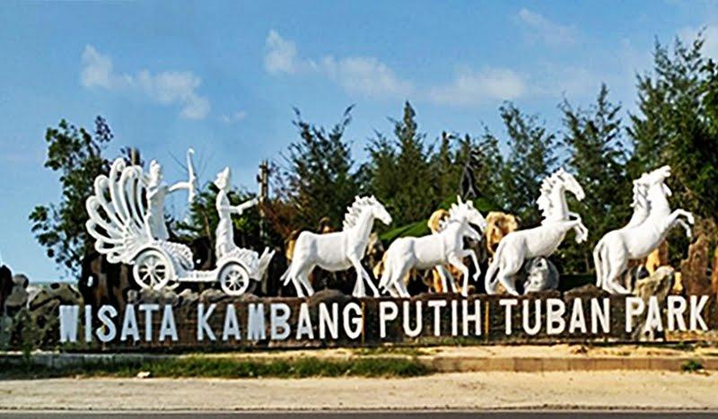 Wisata Bahari Tuban Namanya Kambang Putih Park Museum Kab