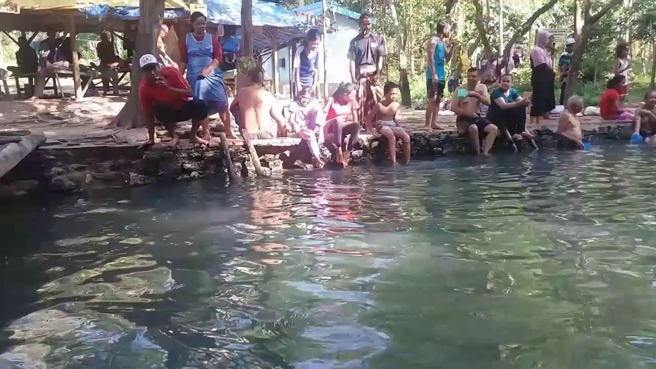 Air Panas Nganget Kenduruan Tuban Youtube Pemandian Bektiharjo Kab