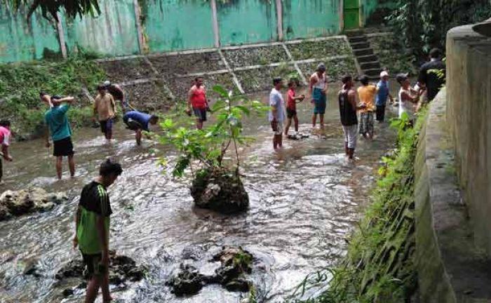 Bakal Wahana Arung Jeram Kawasan Wisata Pemandian Bektiharjo Kab Tuban