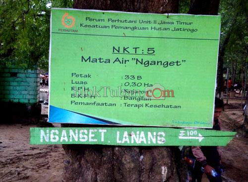 Bloktuban Minum Belerang Nganget Lanang Pemandian Air Panas Turut Desa