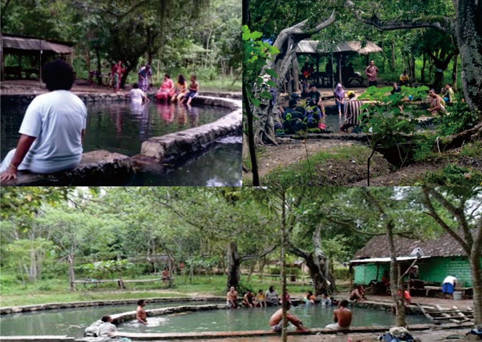 Pemandian Air Nganget P Hangat Desa Sidorejo Kecamatan Kenduruhan Kabupaten