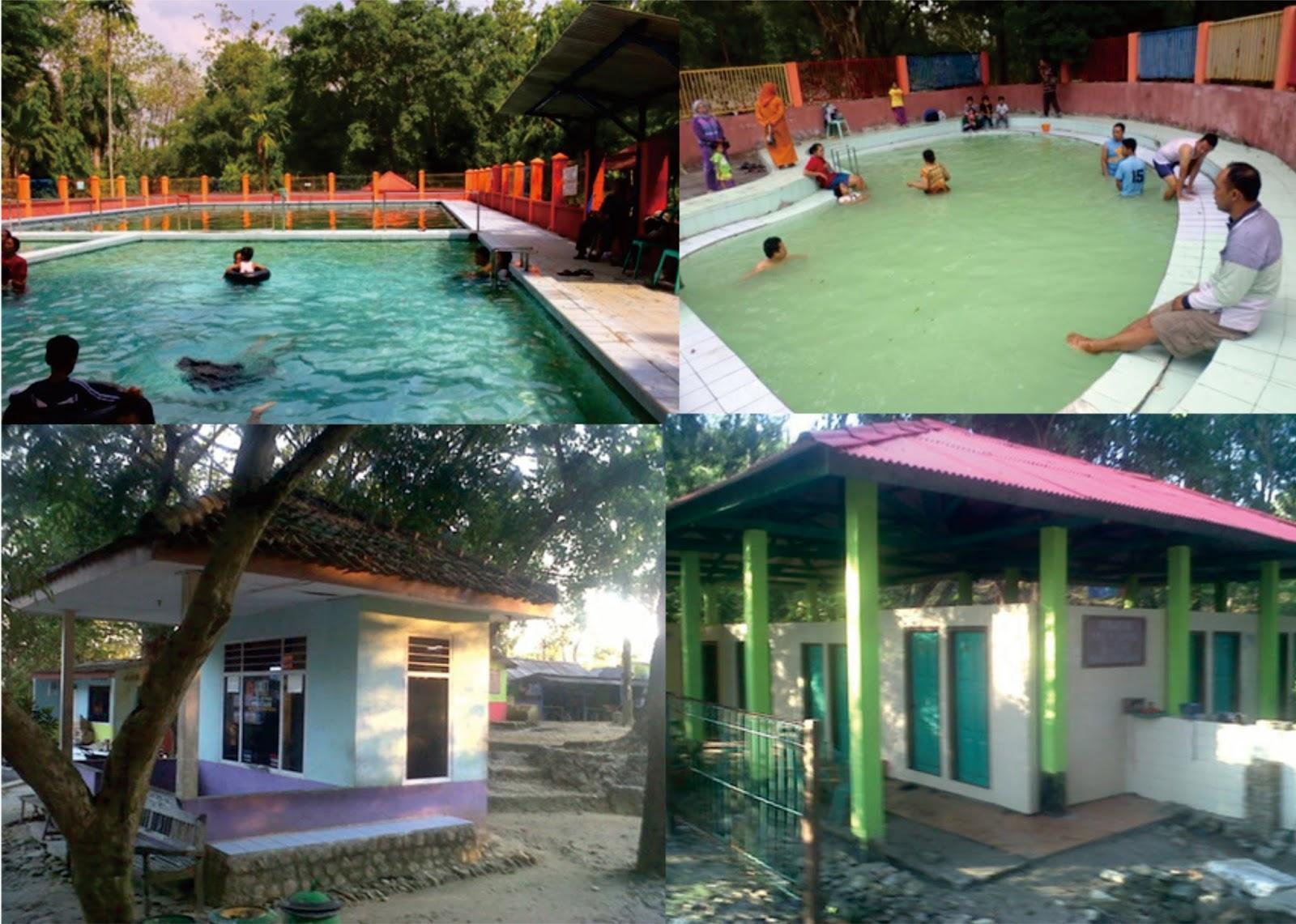 Pemandian Air Panas Prataan P Wisata Terletak Kecamatan Parengan Sekitar