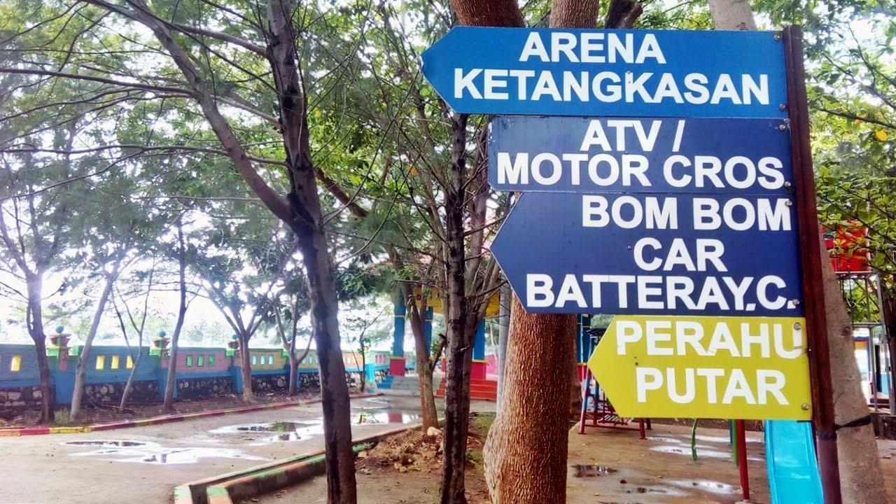 Wisata Bahari Tuban Namanya Kambang Putih Park Setelah Cek Tiket