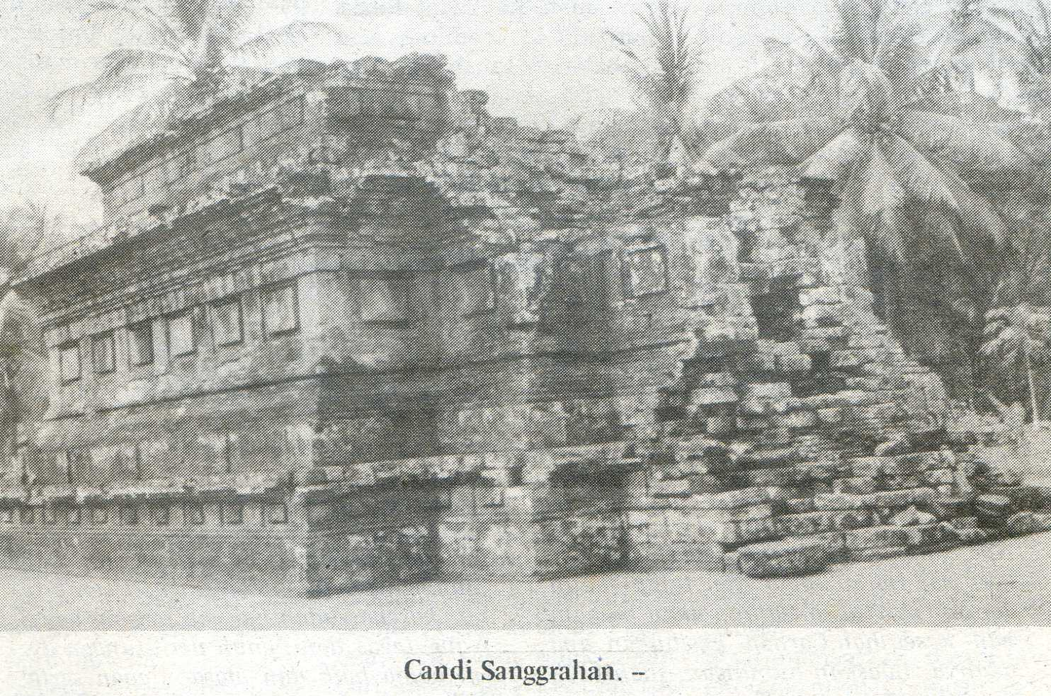 Candi Sanggrahan Peninggalan Sejarah Asli Tulungagung Dadi Kab