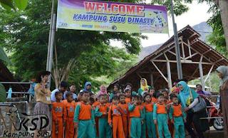 Kampung Susu Dinasty Tulungagung Seputar Peserta Wisata Edukasi Ksd Gambar
