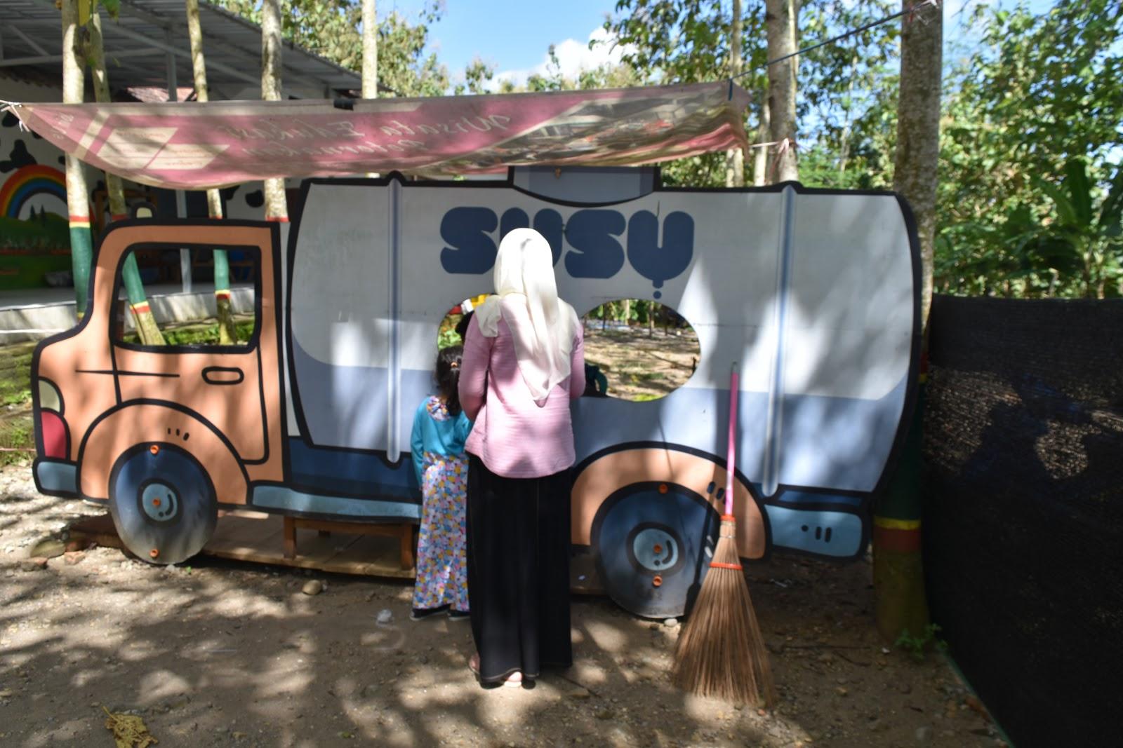 Kampung Susu Dinasty Wisata Edukasi Tulungagung Belajar Trading Loket Masuk