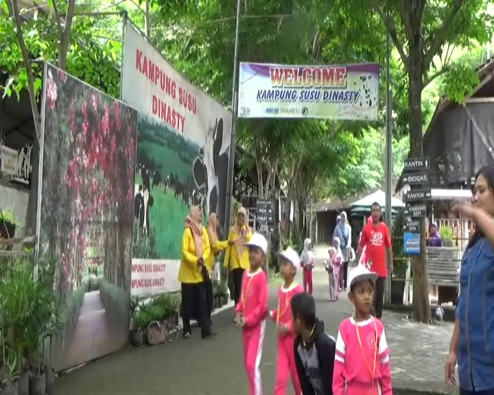 Wisata Kampung Susu Edukasi Liburan Sekolah Pojok Pitu Dinasty Kab