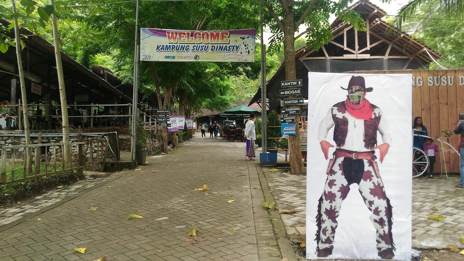 World Adventure Destination Kampung Susu Dinasty Kab Tulungagung