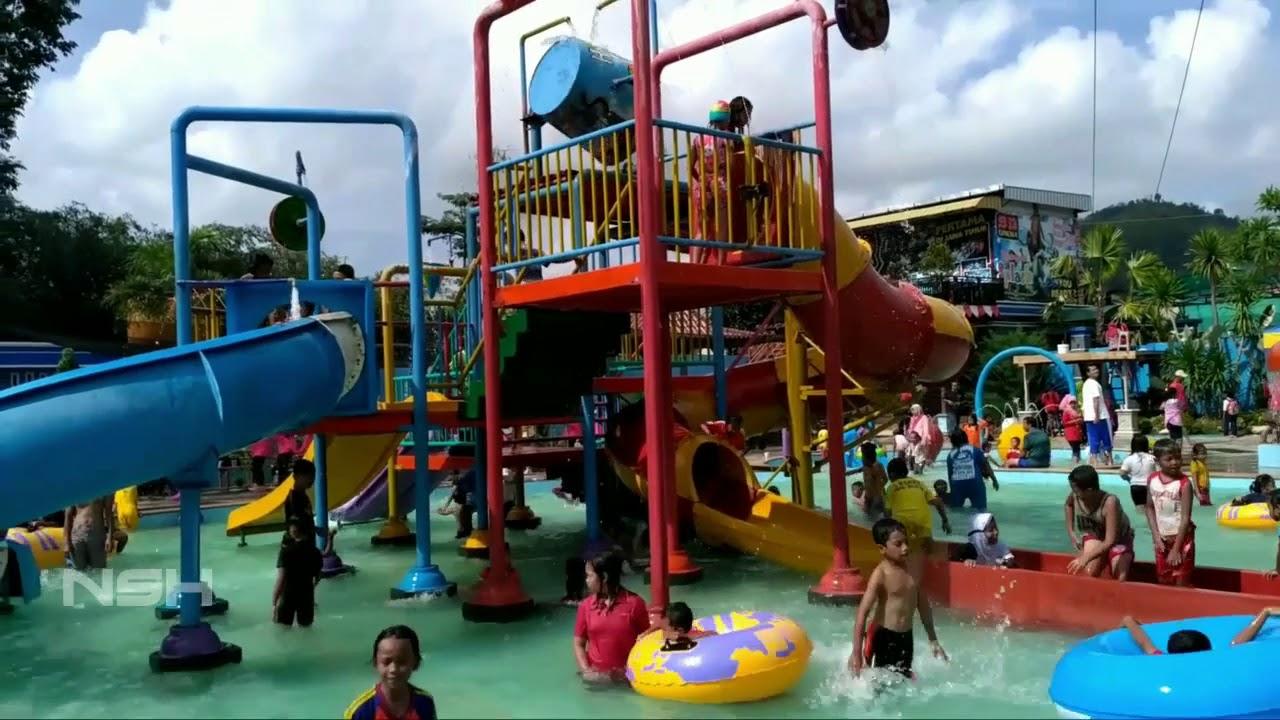 Splash Waterpark Tulungagung Jalan Sehat 2017 Youtube Taman Air Jambooland