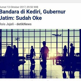 Tulungagungku Instagram Posts Deskgram Pakde Karwo Bandara Kediri Oke Jangan
