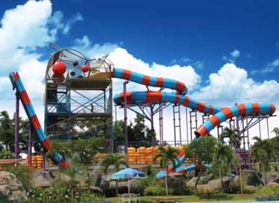 12 Wahana Water Kingdom Mekarsari Keren Taman Air Splash Kab