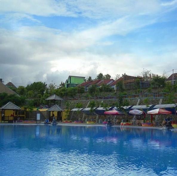 Letak Wahana Harga Tiket Masuk Kediri Waterpark Taman Air Splash